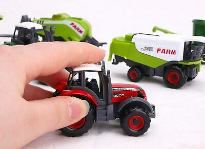 AU16.28 • Buy Pack Of 6 Die Cast Metal Farm Tractor & Implements Set-Approx.5cm-ES444-ANY-TL