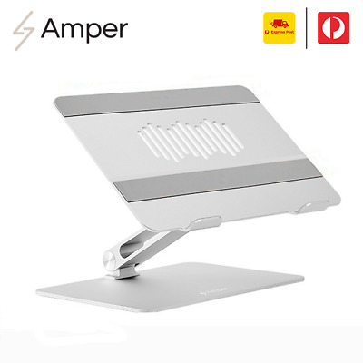 "AU69.95 • Buy Adjustable Aluminium Laptop Stand Portable Tray Holder Riser For MacBook 10""-17"""