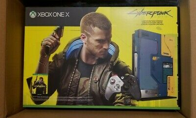 $479 • Buy Xbox One X 1TB Cyberpunk 2077 Limited Edition Console Bundle - Brand New In Hand