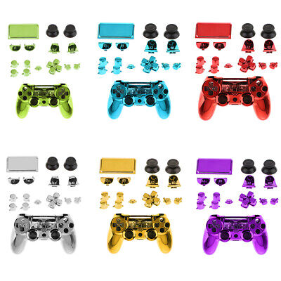 AU21.47 • Buy Case Cover Housing Shell Kit For Sony PS4 Pro Controller Button Bundle Set