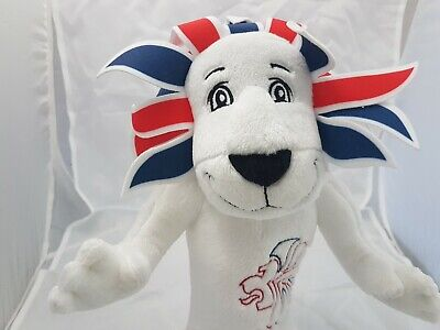 London 2012 - 13  Lion Plush Olympic Games Team GB Mascot Soft Toy Collectable • 5.99£