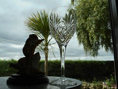 Royal Doulton Crystal  WESTMINSTER  6 13/16   WINE  Glass OR Glasses ( 2nd )    • 22.95£