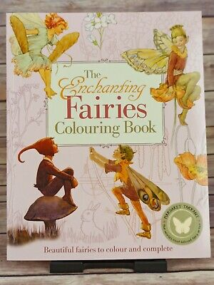 The Enchanting Fairies Colouring Book (Colouring Books) New Paperback Book • 7.90£