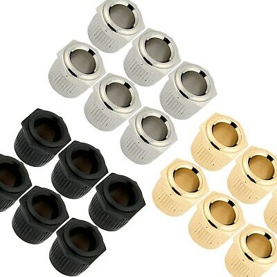 $ CDN18.87 • Buy (6) GOTOH 10mm To Vintage 1/4  Post Conversion Adapter Bushings For Guitar Tuner