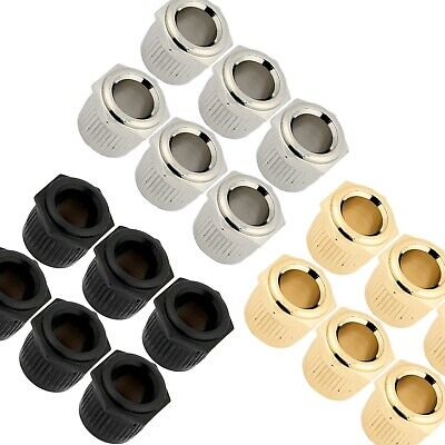 $ CDN24.13 • Buy (6) GOTOH 10mm To Vintage 1/4  Post Conversion Adapter Bushings For Guitar Tuner