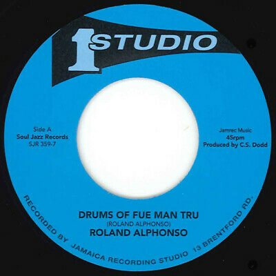 £15.95 • Buy NEW- ROLAND ALPHONSO- Drums Of Fue Man Tru/ Tommy McCook -Blues For I- SJR359-7