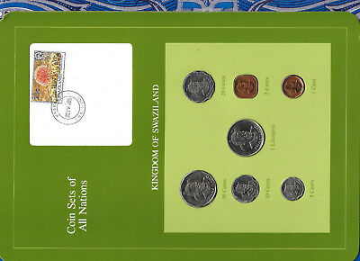 $14.78 • Buy Coin Sets Of All Nations Swaziland 1975-1982 UNC 50,1 Cent 1975 1 Lilangeni 1981