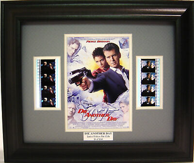 007 Die Another Day Framed Film Cell Pierce Brosnan • 19.53£