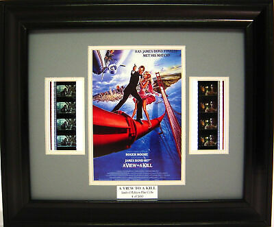 007 A View To A Kill Framed Film Cell Roger Moore • 19.53£