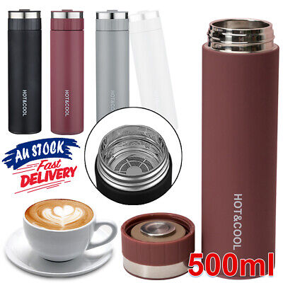 AU19.59 • Buy Stainless Steel  Vacuum    Cup  Insulated Thermos Tea Bottle  Water Mug