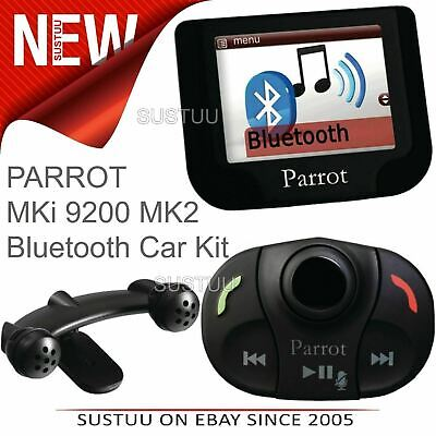 Parrot MKi 9200 MK2 Bluetooth Mobile Phone Handsfree Car Kit│USB│iPod Connection • 198.80£