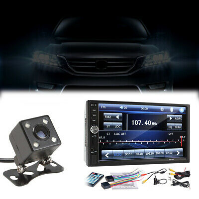 $ CDN123.82 • Buy 2 DIN 7  HD Car Stereo Radio MP5 Player Bluetooth Touch Screen With Rear Camera