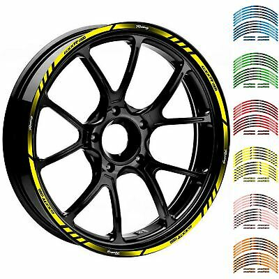 $12.49 • Buy 17  18   GSXR1000  Wheel Rim Tape Decal Stripes Sticker For Suzuki GSXR1000
