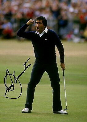 183185 Seve Ballesteros Masters Ryder Cup 1984 Signed WALL PRINT POSTER UK • 56.95£