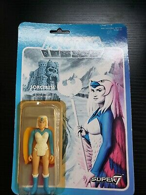 $89.99 • Buy Super7 ReAction Masters Of The Universe Figure MOTU Sorceress Wave 2 RARE!