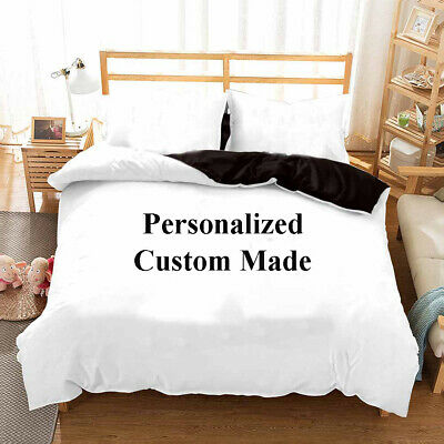 Xmas Holiday Wedding Gift Personalized Customised Bedding Duvet Quilt Cover Set • 27.99£