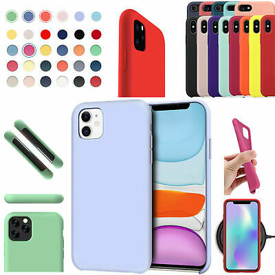 For Apple Silicone Case IPhone 12 Pro XR XS MAX 6 8 7 Plus Slim TPU Soft Rubber • 2.99£