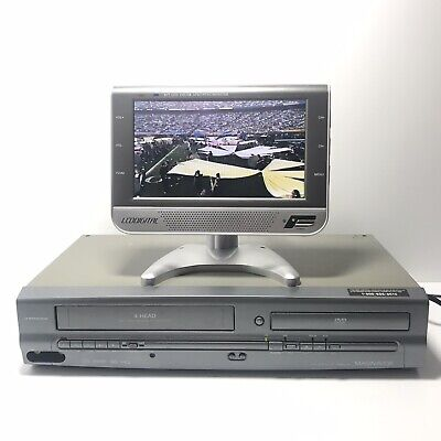 $ CDN188.33 • Buy Magnavox MWD2205 DVD / VCR Combo Player No Remote | Tested, Cleaned & Calibrated