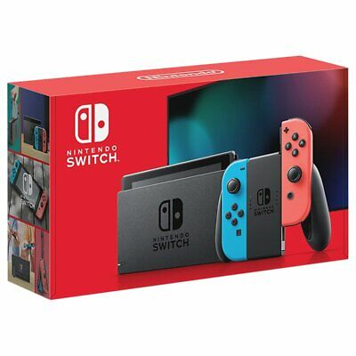 $ CDN523.95 • Buy Nintendo Switch Console Neon Blue And Neon Red Joy-Con - Free Express Shipping