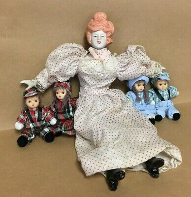 $ CDN44.17 • Buy Vintage Retro Antique Mixed Porcelain Doll Lot