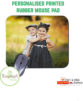 Personalised Custom Your Picture/ Logo Computer Mousemat Mouse Pad Rubber  • 3.45£
