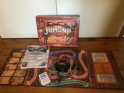 AU15 • Buy JUMANJI THE GAME Board Game Cardinal Games