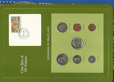 $12.93 • Buy Coin Sets Of All Nations Swaziland 1975-1982 20,10,5 Cents, 1 Lilangeni 1979