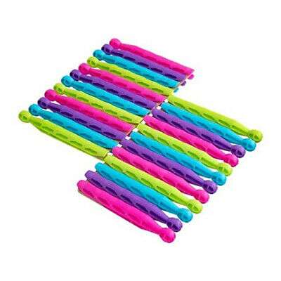 Strong Durable Coloured Plastic Dolly Pegs Clothes Laundry Washing Line  • 3.10£
