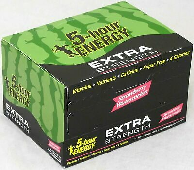 $ CDN33.49 • Buy 5 Hour Energy Strawberry Watermelon Extra Strength 12 Count