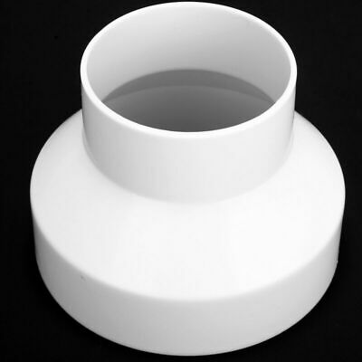 ABS Ventilation PVC Pipe Circular Ducting Reducer Adaptor 150mm To 100mm Tool • 5.15£