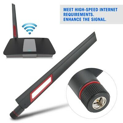 Dual Band Wireless External Network Card Router Antenna WIFI SMA 12dbi 11N MIMO • 3.53£