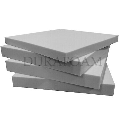 £2.99 • Buy Grey Upholstery Foam - Medium Firm  - CUT TO ANY SIZE AND THICKNESS - ALL SIZES