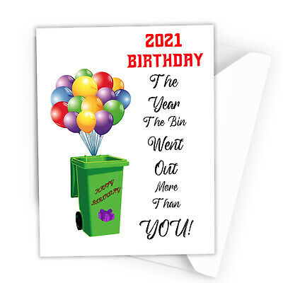 Funny Birthday Card Lockdown Dad Mum Brother Sister Son Daughter Rude Card C08 • 2.69£