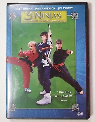 $ CDN53.20 • Buy 3 Ninjas High Noon At Mega Mountain DVD Hulk Hogan Jim Varney Loni Anderson