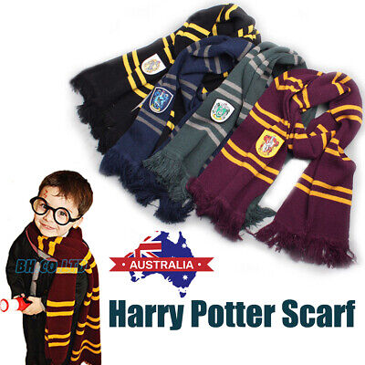 AU14.19 • Buy Harry Potter Scarf Costume Gryffindor Hufflepuff Ravenclaw Slytherin Adult Kids