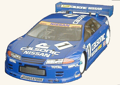1:10 RC Clear Lexan Body Nissan GTR R32 200mm Nitro Or Electric Colt3 • 22.63£