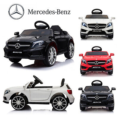 12V Kids Ride On Car Electric MERCEDES BENZ Licensed Remote Control W/2 Motors • 101.99£