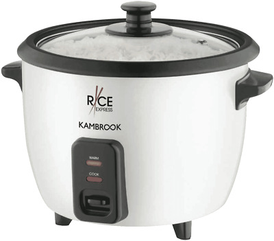 AU35 • Buy NEW Kambrook KRC150WHT Rice Express 5 Cup Rice Cooker