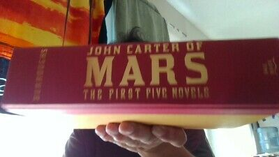 $14.92 • Buy Edgar Rice Burroughs John Carter Of MARS: The First Five (2013) Free Ship!