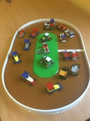 Small Shale - Toy Car Race Track Stock Car Brisca Banger Oval Speedway Nascar • 24.99£