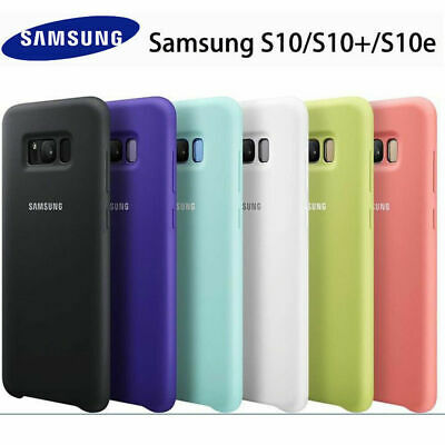 $ CDN6.64 • Buy Genuine Original Silicone Case Cover For Samsung S10 S20 Ultra S9 Plus Note 10 9