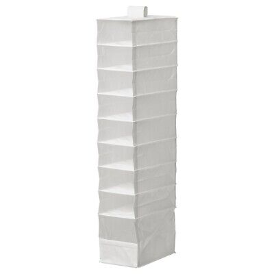 Ikea SKUBB Wardrobe Storage For Shoes / Clothes In White With 9 Compartments • 9.85£