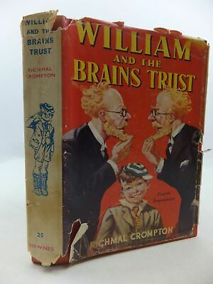 WILLIAM AND THE BRAINS TRUST - Crompton, Richmal. Illus. By Henry, Thomas • 21.90£