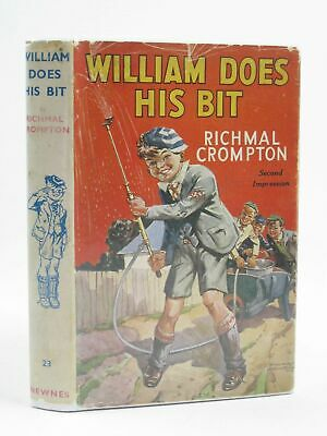 WILLIAM DOES HIS BIT - Crompton, Richmal. Illus. By Henry, Thomas • 32.90£