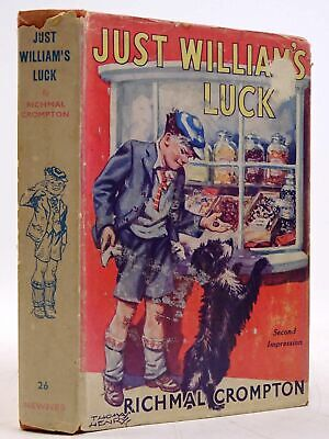 JUST WILLIAM'S LUCK - Crompton, Richmal. Illus. By Henry, Thomas • 39.70£