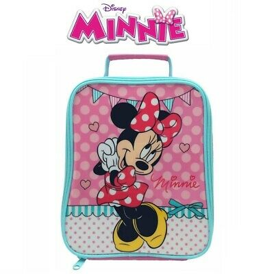 Minnie Mouse Insulated Lunch Bag School Dinner Food Pouch Nursery Meal Conteiner • 9.99£