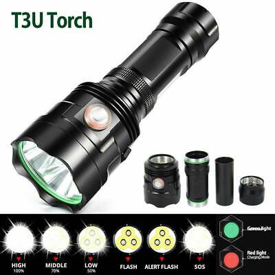 AU30.67 • Buy XHP70.2 LED Flashlight Tactical Zoom 6 Mode Most Powerful Lamp USB Hunting Torch