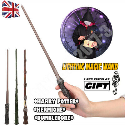 Harry Potter Hermione Dumbledore LED Magic Wand Toy Gift In Box Party Cosplay • 9.59£