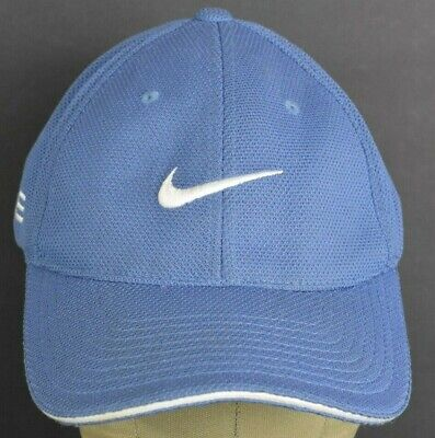 $ CDN6.77 • Buy Blue Nike One Swoosh Logo 5Q Promo Embroidered Baseball Hat Cap Fitted