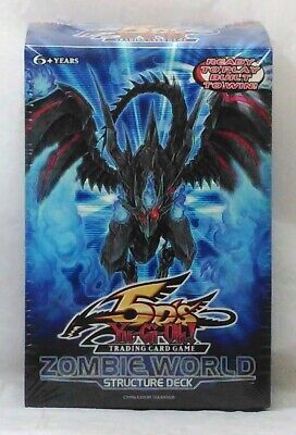 AU49.23 • Buy YuGiOh 5D's Trading Card Game Zombie World 1st Edition Structure Deck Sealed